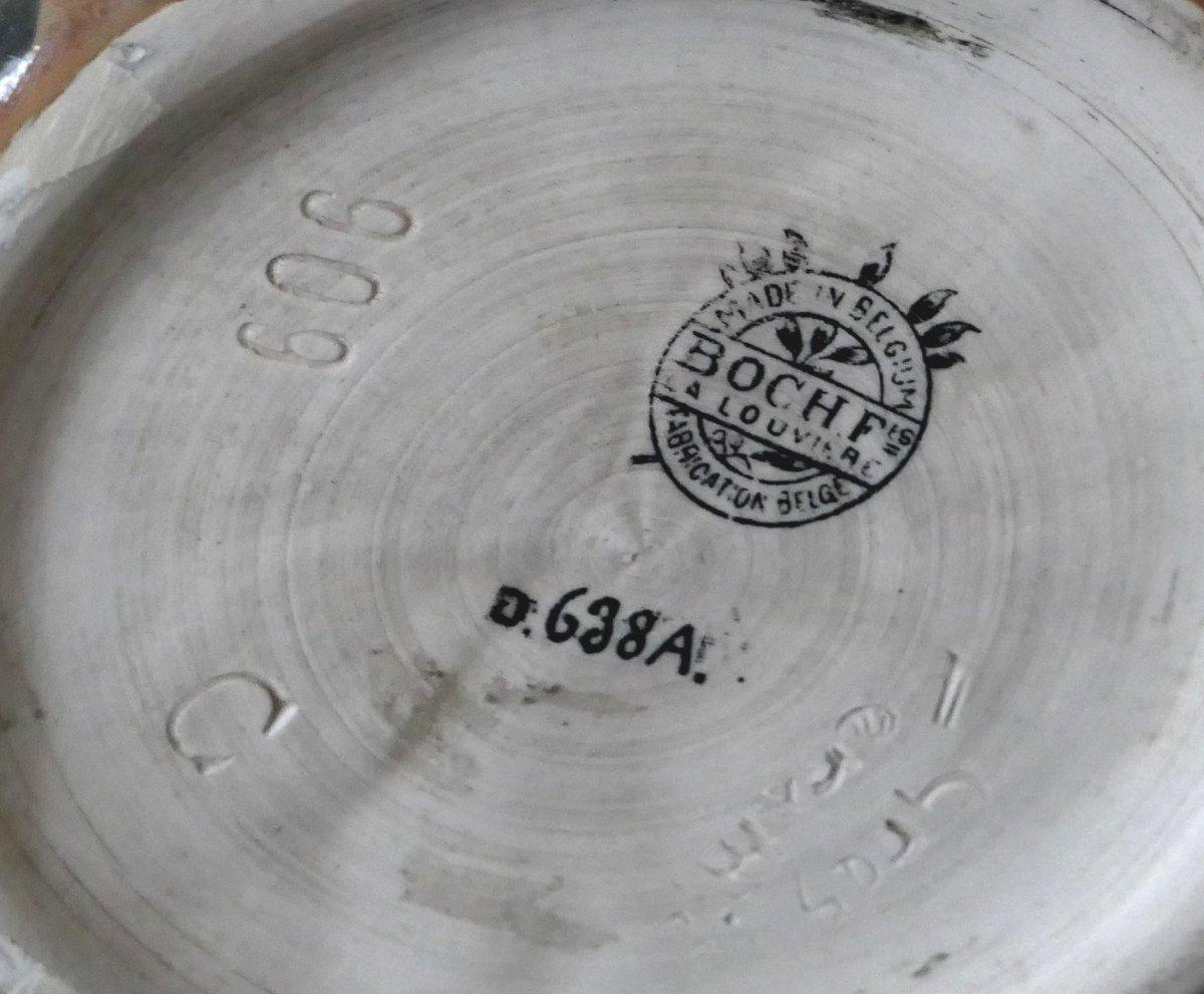 Stoneware Vase - Charles Catteau - Africanist Decor-photo-5