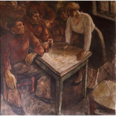 René De Pauw / Oil On Panel