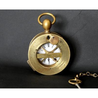 J. Bürk - Portable Watchman's Clock