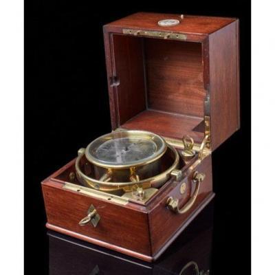 Chronomètre. Signé Par Dumas Scr De Gannery. Numéroté 49. France. Vers 1851.