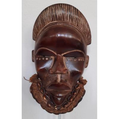 Masquer. Tribu Dan. Côte d'Ivoire. Afrique. Milieu Du 20e Siècle.