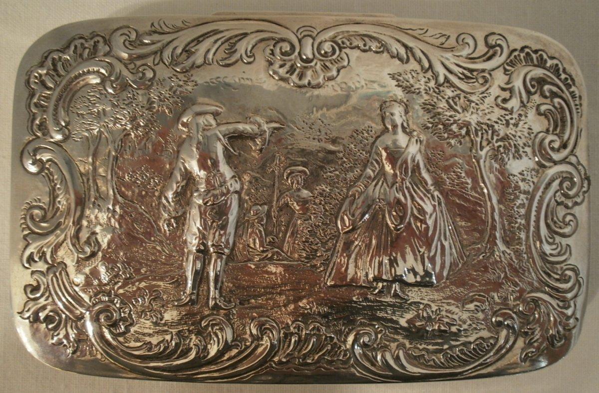 Box - Sterling Silver - 19th Century