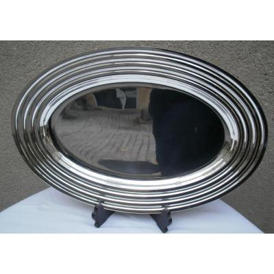 Christofle - Ondulation - Plat Oval - 45 x 31 cm