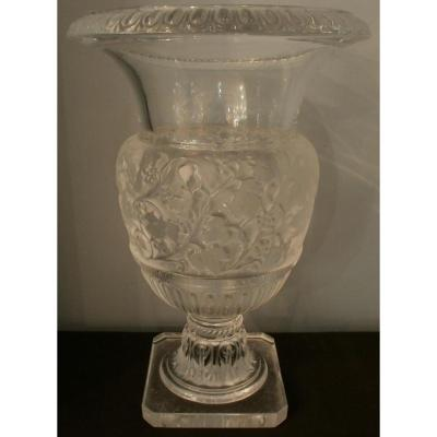 Lalique - Tall Vase