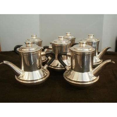 6 Individual Coffee Pots Or Teapots