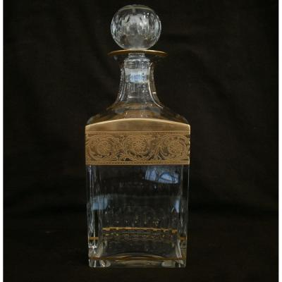 Saint-louis - Thistle - Or - Carafe à Whisky