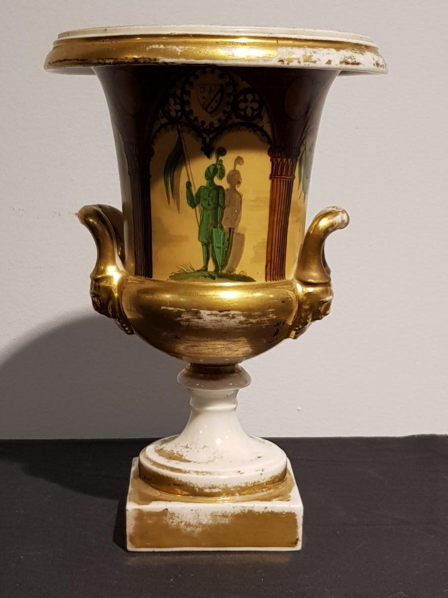 petit vase en porcelaine de paris objets d coration vases en porcelaine. Black Bedroom Furniture Sets. Home Design Ideas