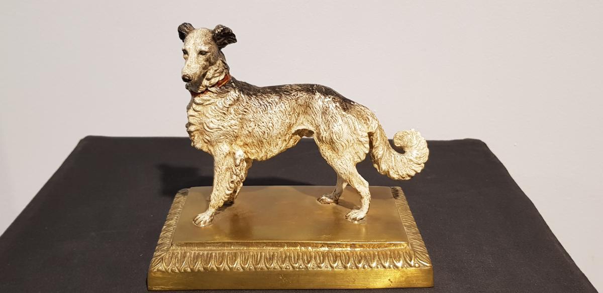 Chien Colley: Bronze De Vienne