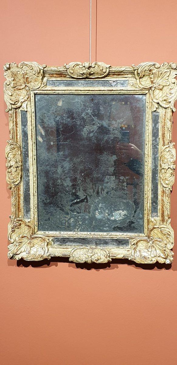 Miroir A Parecloses d'époque Régence