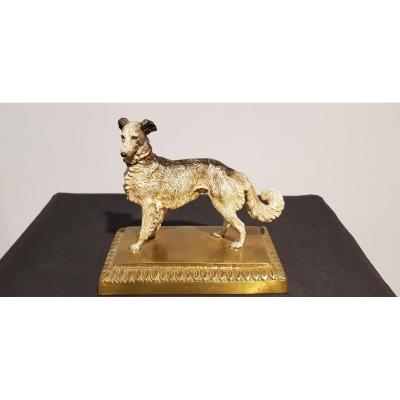 Chien Colley: Bronze De Vienne