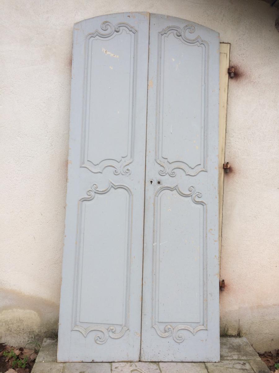 Porte Double XIX ème