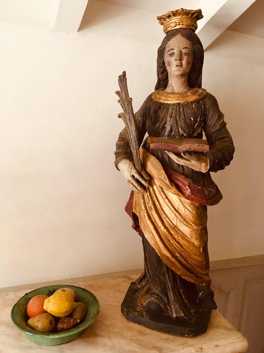 Vierge Couronnée XVII ème