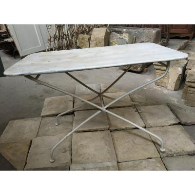 Garden Table, Folding, Late Nineteenth
