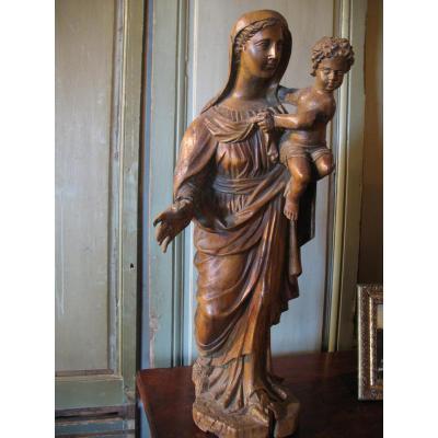 Vierge à l'Enfant XVIIème