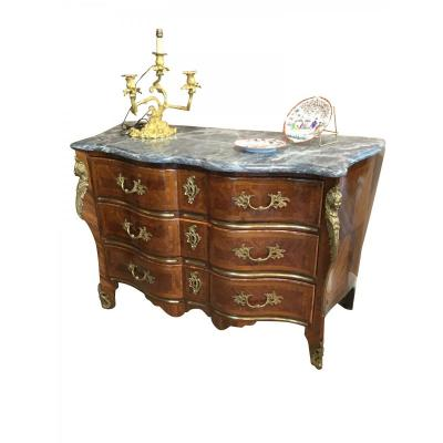 Commode Louis XV En Arbalete