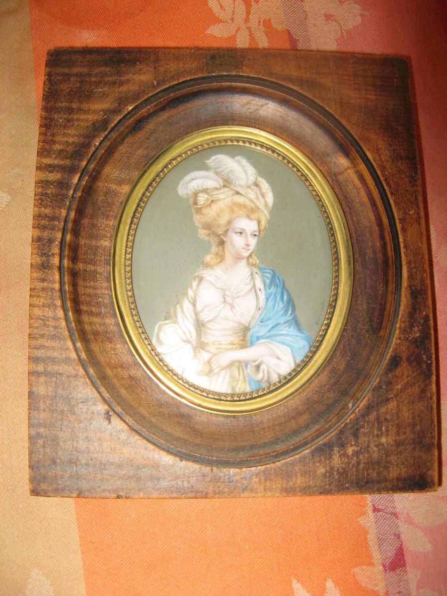 Miniature représentant la  Duchesse de Ruttland, 19ème.-photo-2