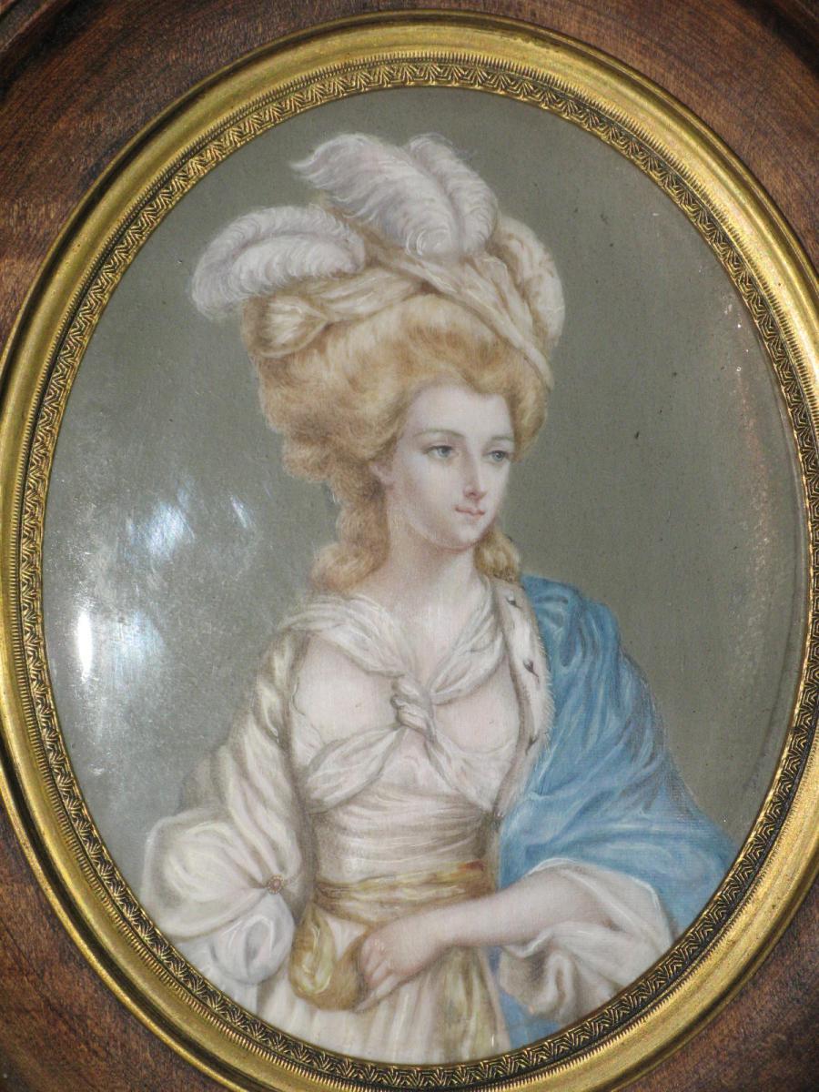 Miniature représentant la  Duchesse de Ruttland, 19ème.-photo-4