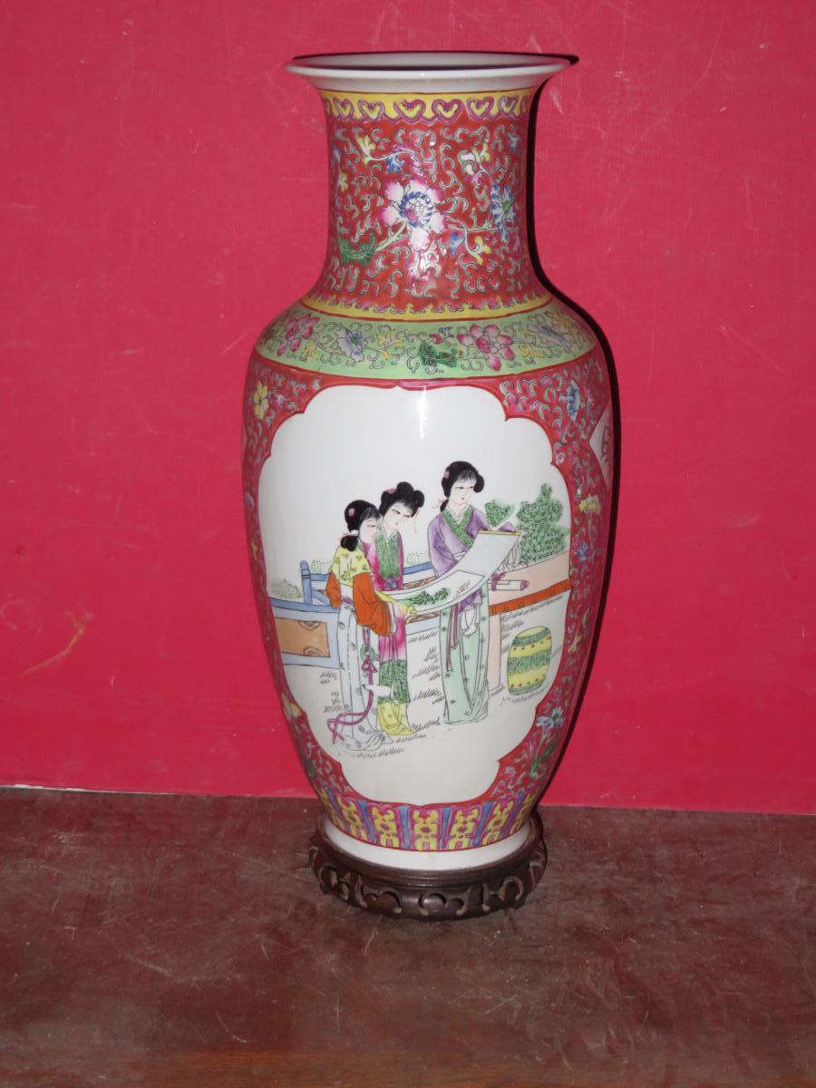 Vase Chinois époque 20ème.