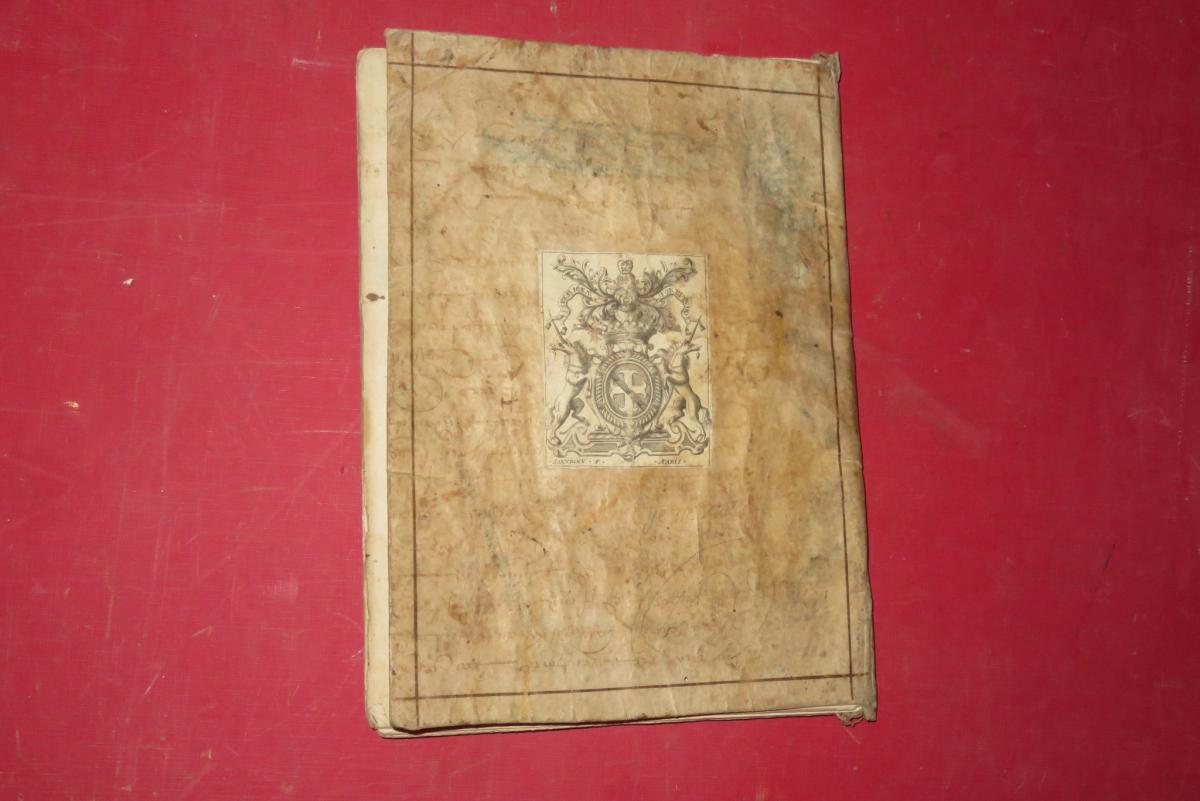 """"""" Petit Abrégé De l'Histoire De France """", Manuscrit Daté De 1716.-photo-8"""