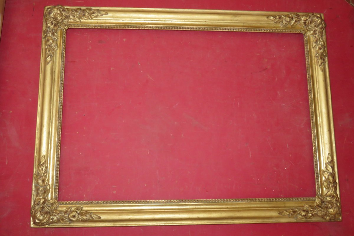 19th Century Frame, In Golden Wood.