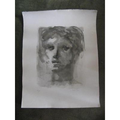 Lithographie Originale, De Léonor Fini, 20 ème.