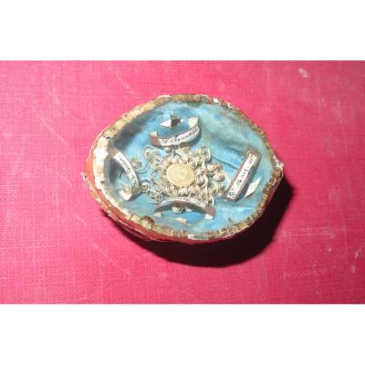 Médaillon reliquaires, époque 19ème.
