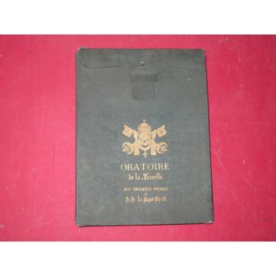 Livret Oratoire époque 19ème.