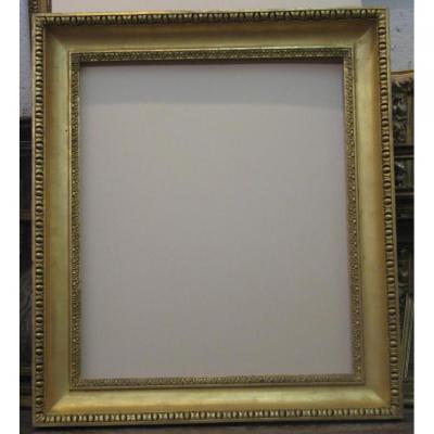 Italian Frame, 18th Century Wood Gold.