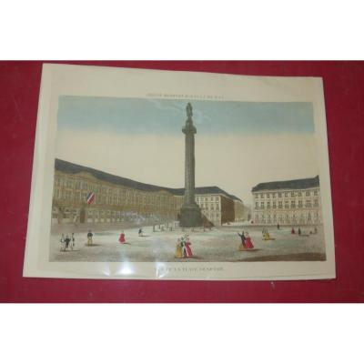 Place Vendome, Optical View Early 19th Time.