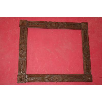 Carved Wood Frame, Early 20th Century.
