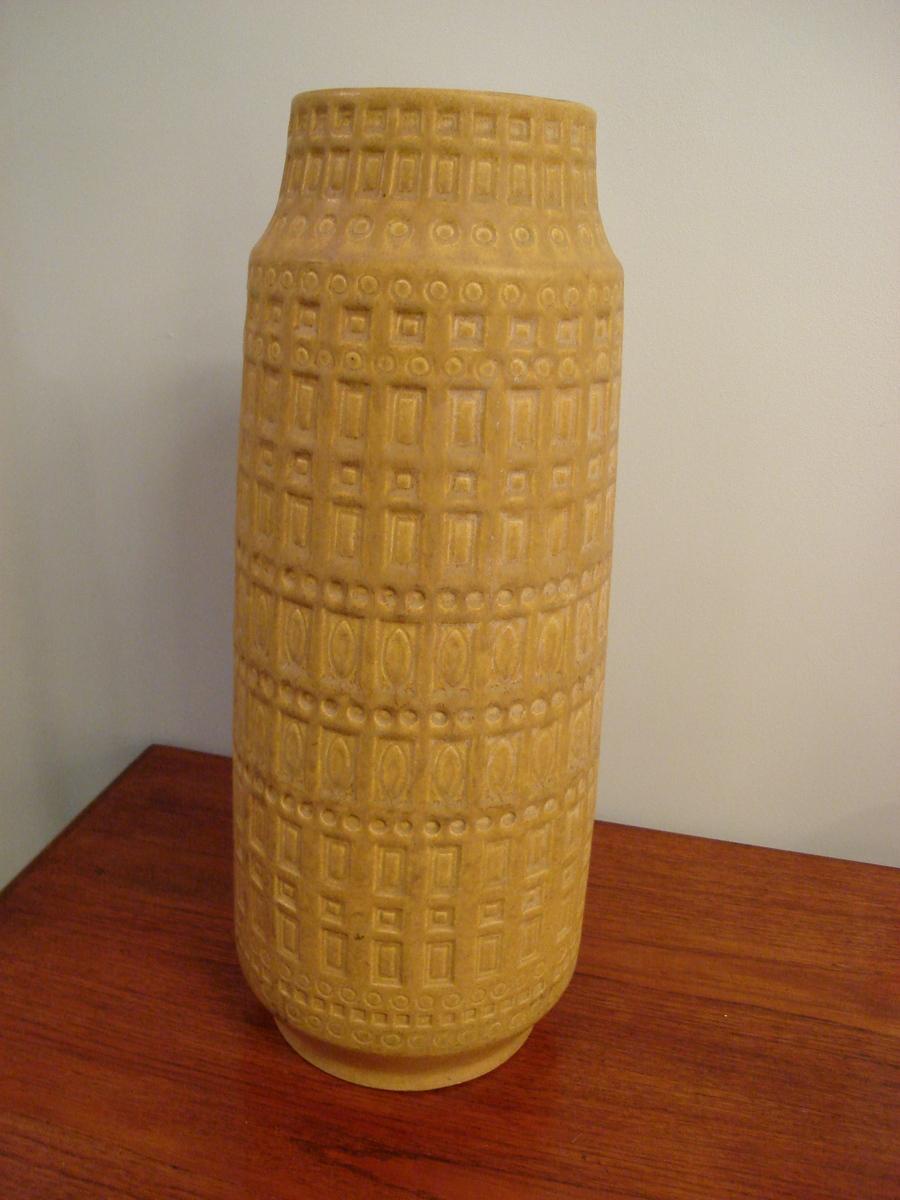German Ceramic Vase Circa 1950
