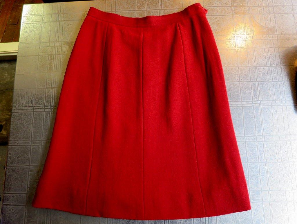 Pencil Skirt High Waist Yves Saint Laurent Rive Gauche Paris