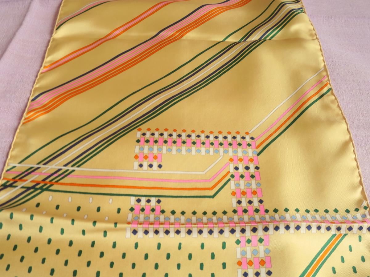 Scarf Christian Dior Vintage Silk Scarf, 70s-photo-1