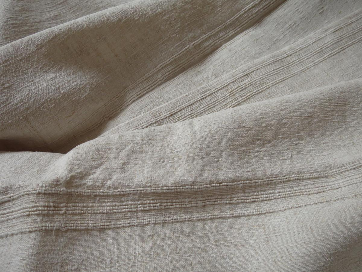 Rustic Tablecloth Nineteenth In Hemp And Linen