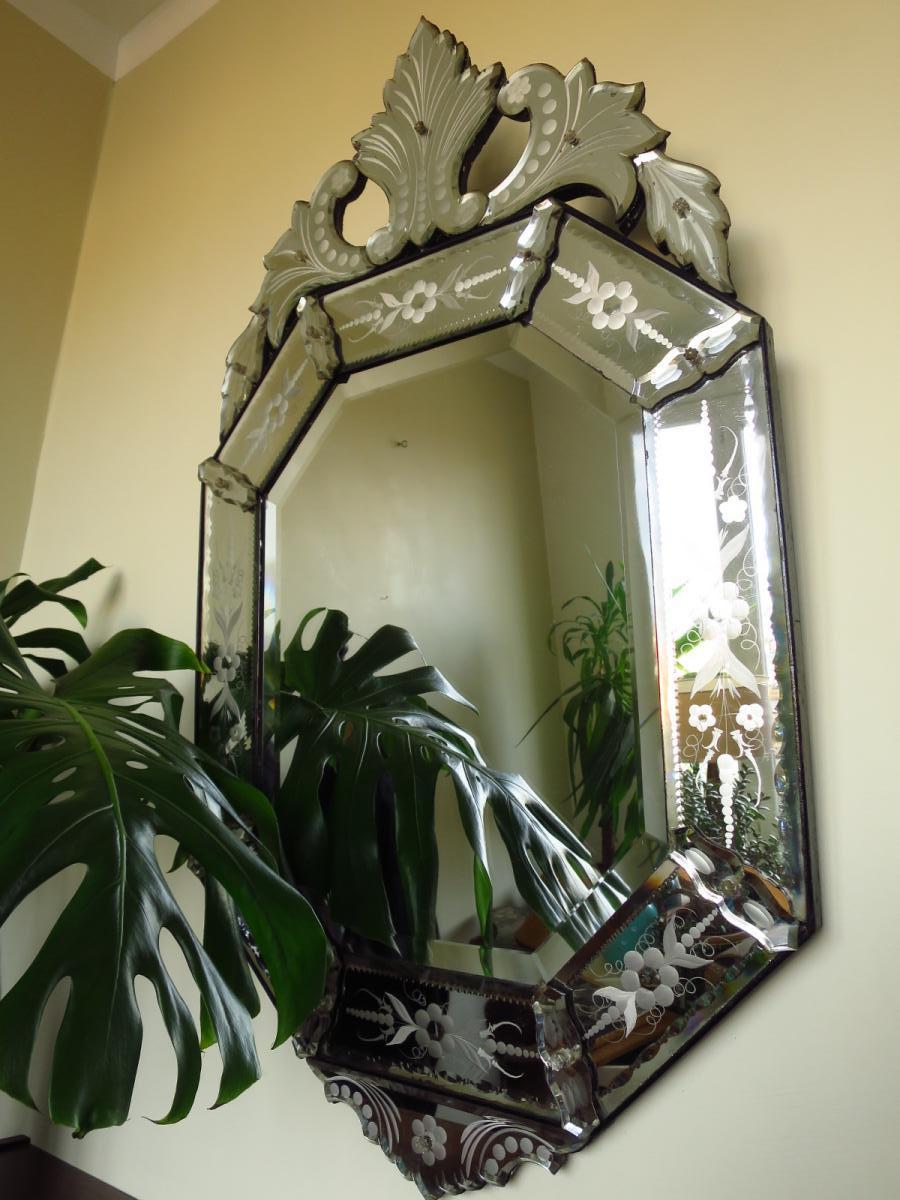Venetian Mirror Murano Glass, 1900