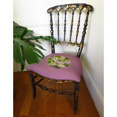 Chaise chauffeuse Napoleon III