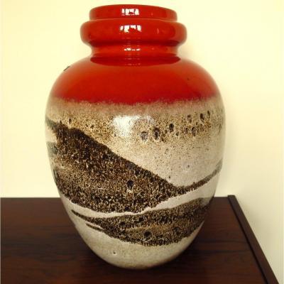 Grand vase W. Germany SCHEURICH vers 1960
