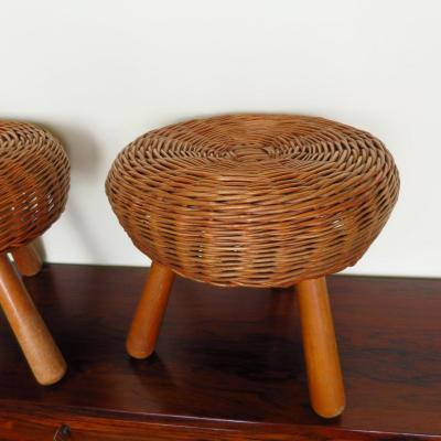 Tabouret de TONY PAUL circa 1950