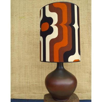 Lampe de Jacques LIGNIER en terre cuite vers 1960
