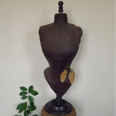 Mannequin buste couture, taille de guêpe, Napoléon III