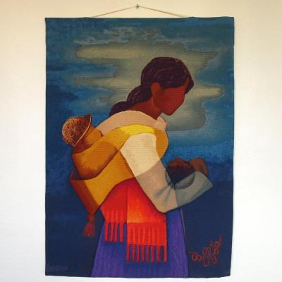 Louis Toffoli Serigraphy Tapestry,