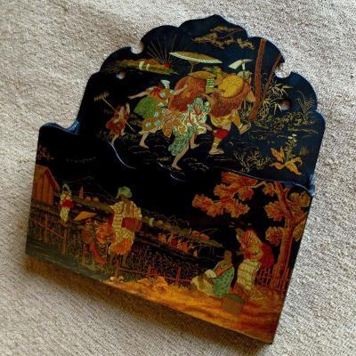 Porte lettres Napoléon III aux chinois