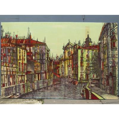 """Tapisserie imprimée """"Venise"""" de Jean CARZOU"""