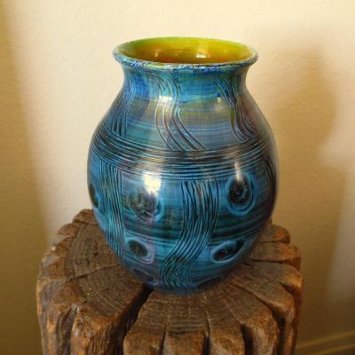 Rare Accolay Vase Circa 1950