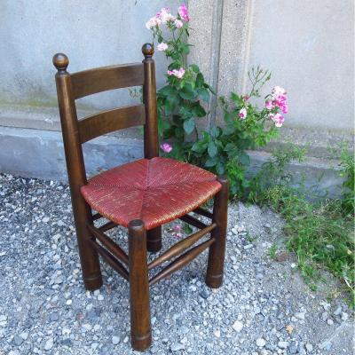 Mulched Chair By Charles Dudouyt Circa 1940