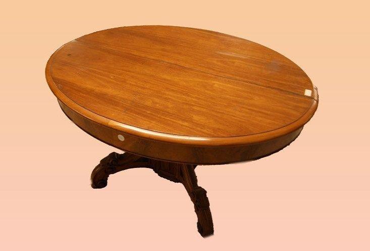 Table Louis Philippe Française Extensible 6 Mètres