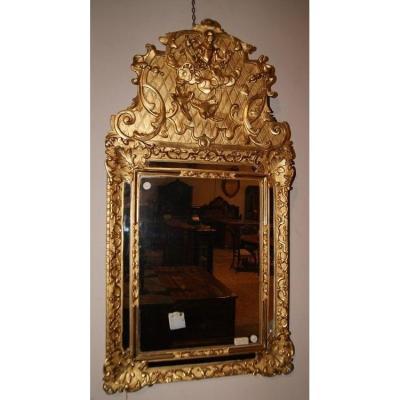 Miroir Français Riche De La Fin Des Années 1700