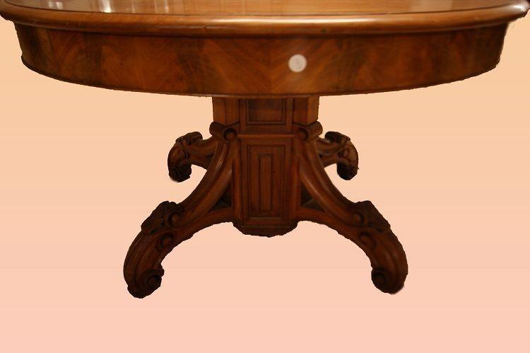 Table Louis Philippe Française Extensible 6 Mètres-photo-3