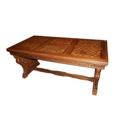 Table De Style Renaissance Française Des Années 1800