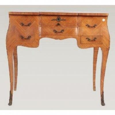 Louis XV Style French Rosewood Dressing Table From The 1800s